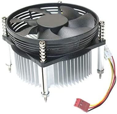 Fasmodel CPU Cooler Fan Radiator 3Pin Quiet Cooling CPU Fan for INTEL 478//775//115X