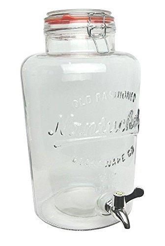 7.6l Kilner dispensador de bebidas de cristal transparente estilo jarwith grifo y tapa: Amazon.es: Hogar