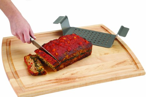 Chicago Metallic Professional Non-Stick 2-Piece Healthy Meatloaf Set, 12.25-Inch-by-5.75-Inch by Chicago Metallic (Image #4)