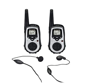 Audiovox GMRS9010-2 10-Mile 23-Channel FRS/GMRS Two-Way Radio with NOAA Receiver/Weather Alert (Pair) from Audiovox