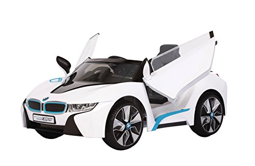 Prinsel - Juguete Auto BMW I8, color blanco (1235)