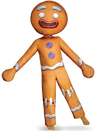 Gingy Deluxe Costume, Medium (7-8) -