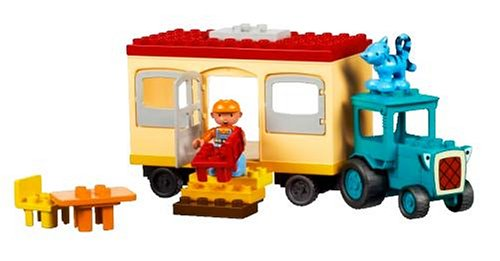 Trailer 3296 and the Builder Travis to work with Lego Bob LEGO LEGO