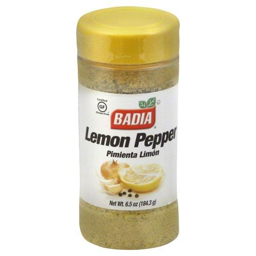 Badia Lemon Pepper Seasonings, 6.5 Ounce - 12 per case by Badia