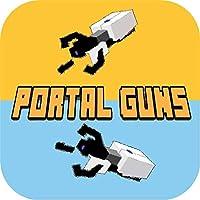 New Portal Guns Mod For Minecraft PE