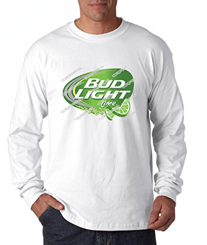 Bud Light Lime - Brewing Company Longsleeve White (Bud Light Lime Straw Ber Rita Price)