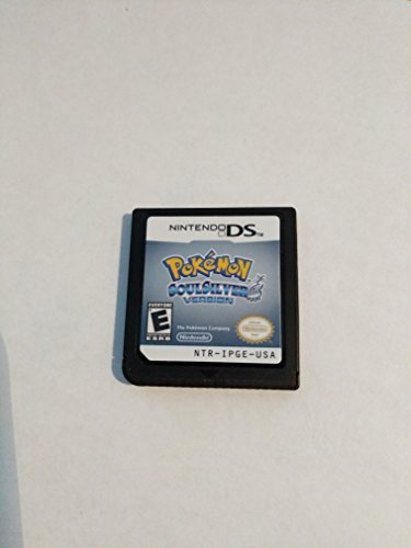 Pokemon Soulsilver Soul Silver Authentic (Nintendo DS) Lite DSi XL 3DS 2DS Game by Fashion Wood9696