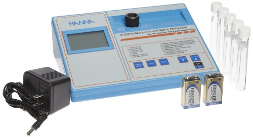 Hanna Instruments HI83214-01 COD Meter and Multiparameter Photometer, 9-3/16″ Length x 7-55/64″ x Width 4-21/64″ Height, 115V, For Wastewater Analysis
