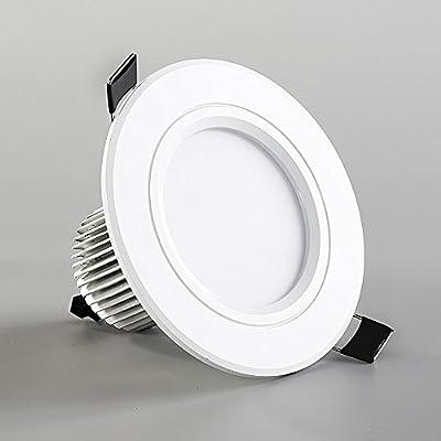 Splindg 1Pcs LED Downlight 110V 240V 12W 18W LED Ceiling with IC Driver Round Recessed Lamp LED Spot Light for Bedroom Kitchen