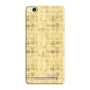 Cover It Up - Gold Pink Break Mosaic Redmi 3s Hard Case