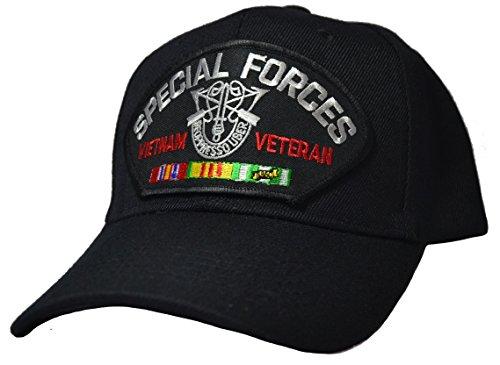 Vietnam Vet Hat Patch - Special Forces Vietnam Vet Ball Cap