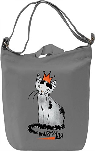 Prinzess Lilo Borsa Giornaliera Canvas Canvas Day Bag| 100% Premium Cotton Canvas| DTG Printing|