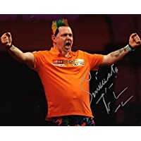 Limited Edition Peter Wright Darts unterzeichnet Foto Autogramm signiertsigniertes