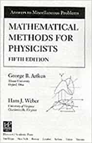 arfken mathematical methods for physicists 5th edition pdf