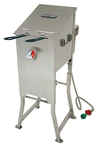 Bayou 700-701 4 Gallon Stainless Steel Propane Deep Fryer W/ Basket Regulator (Bayou 4 Gallon Deep Fryer compare prices)