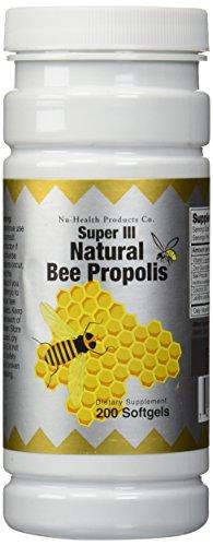 Antibiotic Propolis Natural - Natural Bee Propolis, 200 softgels