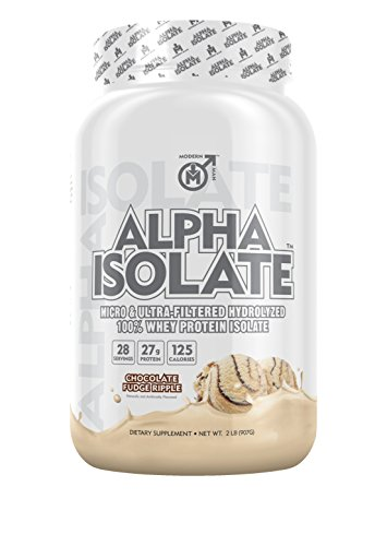 Alpha-Isolate-Highest-Quality-Best-Tasting-Whey-Protein-Isolate-for-Lean-Muscle-Building-Ultra-Filtered-to-Remove-Fats-Lactose-Post-Workout-and-Proven-Muscle-Builder-Chocolate-Fudge-Ripple-2LB
