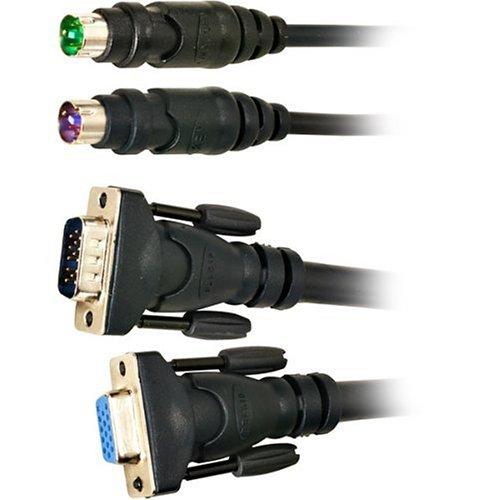 Belkin F1D9000-10 Omnvw PS/2 Cable Kit - 10ft by Belkin