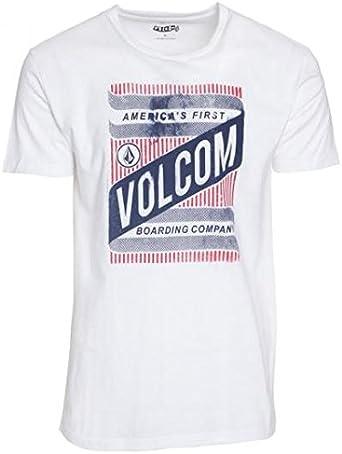 Volcom T-Shirt Weirp Short Sleeve - Camiseta/Camisa Deportivas para Hombre: Amazon.es: Ropa y accesorios