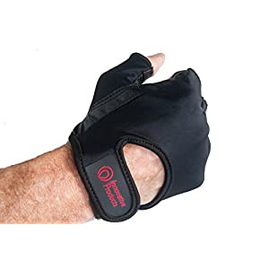 Cycling Biking Gloves for Road / Mountain Bike / Goatskin Leather Palms / Latest Bio Gel Padding / Egonomically Designed for Comfort Men's Large