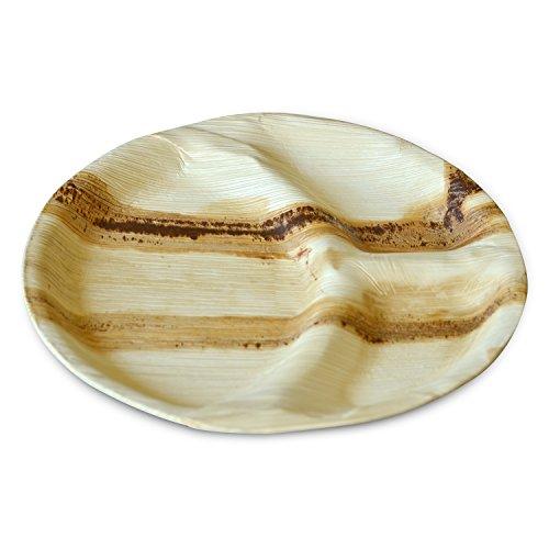 Amazon.com: Leaftrend Ecofriendly disposable palm leaf plates ...