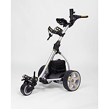 Electric Golf Caddy >> Amazon Com Bat Caddy X3 Electric Motorized Golf Cart Push Pull