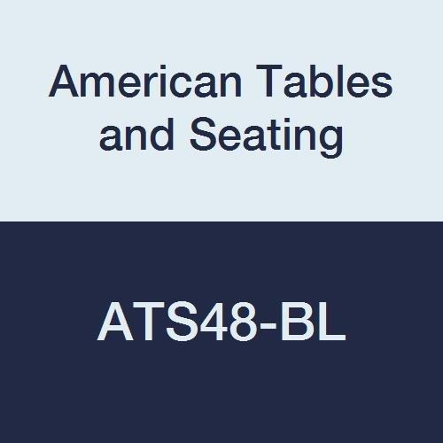 Standard Wilsonart Laminate (American Tables & Seating ATS48-BL Vinyl T-Molding Laminate Round Table Top, Polyethylene T-Mold Edge, Standard Wilsonart Laminate, 48