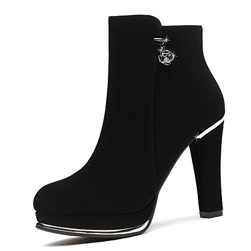 Côté Bref KHSKX Zipper five Étanches Les Thirty Chaud Dossier Chaud Chaussures wTSSPFq
