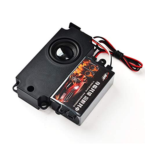 jrelecs Second Generation Cool Throttle Linkage Groups Engine Sound Simulator with One Speakers for RC Car (Single)