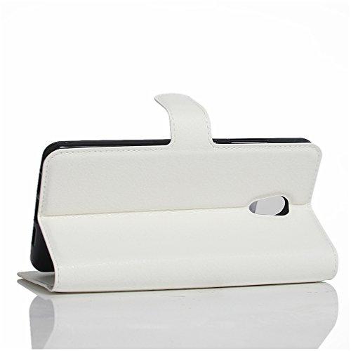 Funda MEIZU Pro6 Plus,Manyip Caja del teléfono del cuero,Protector de Pantalla de Slim Case Estilo Billetera con Ranuras para Tarjetas, Soporte Plegable, Cierre Magnético I