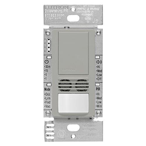 Lutron Maestro Dual Tech Occupancy Sensor Switch, neutral...