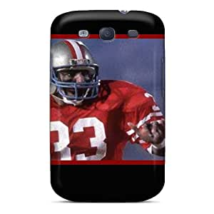 Bumper Hard Phone Cover For Galaxy S3 With Custom Fashion San Francisco 49ers Pattern CassidyMunro