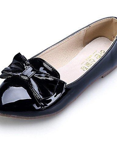 comodidad mujer Flats cerrado zapatos de plano Toe cn36 almendra Toe black rojo señaló casual de uk4 rosa negro us6 talón vestido PDX eu36 AzYtnqxq