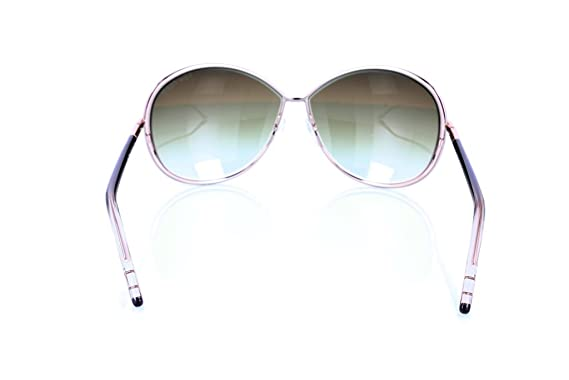 cca04973f1173 Image Unavailable. Image not available for. Color  Tom Ford Sunglasses TF  180 Iris 34P Metal Black - Gold Gradient brown