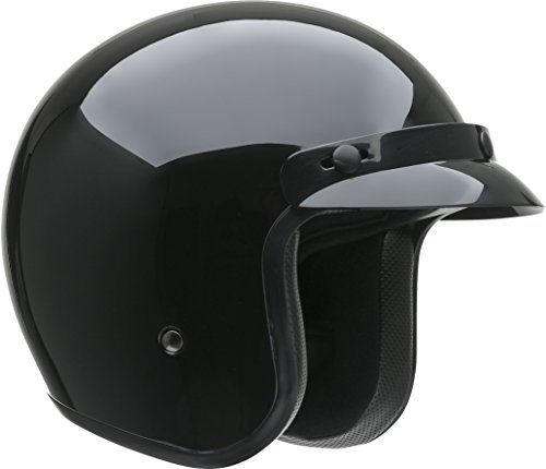 Vega Helmets 8500-013 Gloss Black Medium Vega X380