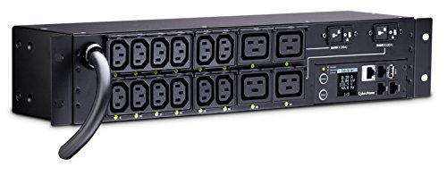 CyberPower PDU41008 Power Distribution Unit Switched 200-240 V/30 A 16 Outlets 2U Rackmount ()