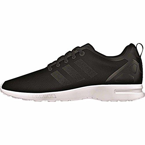White Flux ZX Core adidas Black Basses Noir Smooth Black Baskets Femme Core Core n7pFWap