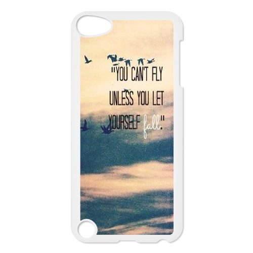 Custom Fly free Back Case for iPod touch5, Personalized Fly free Touch 5 Hard Back Case, Fly free iPod Phone Case