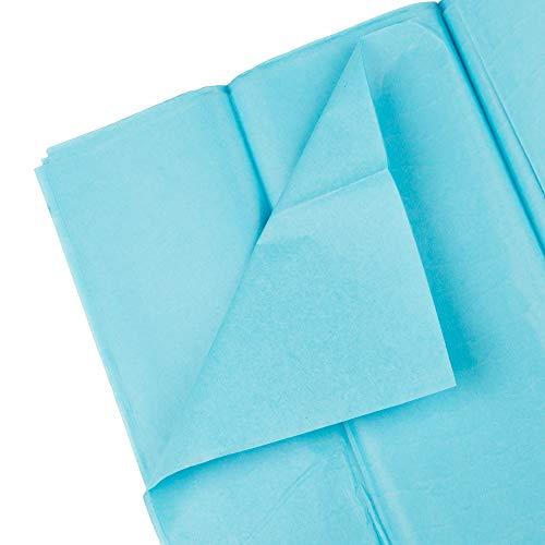 JAM PAPER Tissue Paper - Ocean Blue - 10 Sheets/Pack