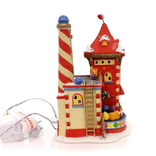 Department 56 North Pole Candy Crush Factory Village Lit Building Multicolor by Department 56 (Image #2)