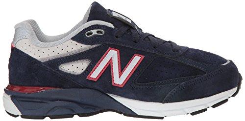 New Balance Boys' 990v4 Sneaker, Blue/Red, 6.5 M US Big Kid by New Balance (Image #7)