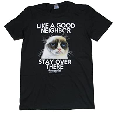 Grumpy Cat Good Neighbor Adult T-shirt