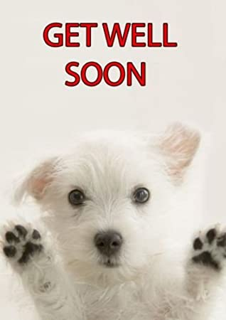 A5 Personalised Westie Get Well Soon Card Refpidwes1 Amazon Co Uk