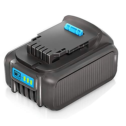 LiBatter 20V MAX 5.0Ah Rechargeable Lithium Ion Battery for DeWalt DCB205-2 DCB205 DCB204 DCB203 DCB201 Dewalt DCD/DCF/DCG/DCS Series DCF787 DCF885 DCD771 DCD777 DCS308B DCS367B DCS387B