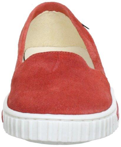 Jonnys kids Silke 7356 SK Unisex-Kinder Hausschuhe Rot (Coral)
