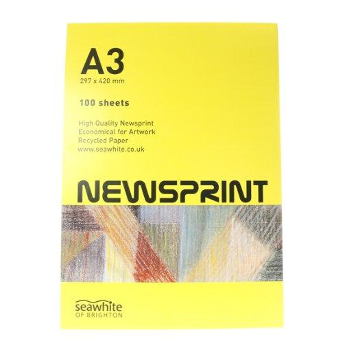 A3 Newsprint Pad Seawhite