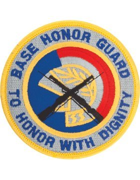 Usaf Base (HG-AF20, BASE HONOR GUARD, FULL COLOR PATCH)