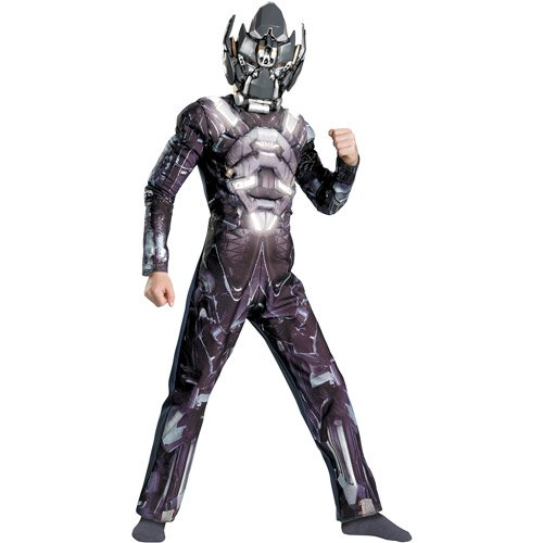 Transformers Kids Halloween Costume Muscle Glow in The Dark - Ironhide Size S (6)]()