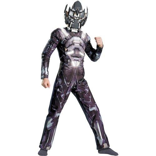Transformers Kids Halloween Costume Muscle Glow in The Dark - Ironhide Size S -