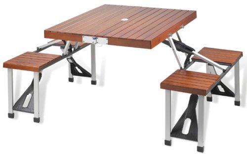 Picnic at Ascot Portable Picnic Table Set (Bench Portable Picnic)